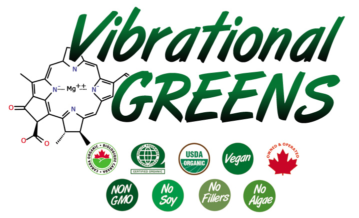 Vibrational Greens certified organic vegan no fillers no soy non gmo