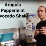 Arugula Peppermint Avocado Shake