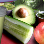 Creamy Avocado Apple Shake by Fred Shadian