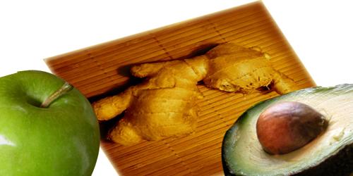 Vibrational Greens Apple Ginger Avocado Shake