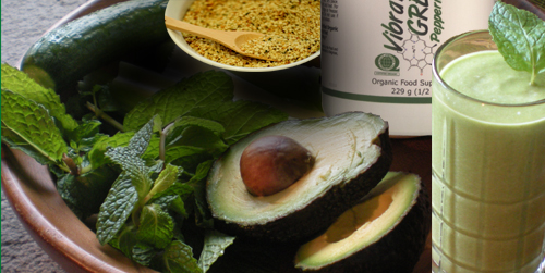 Hemp Mint Avocado Shake