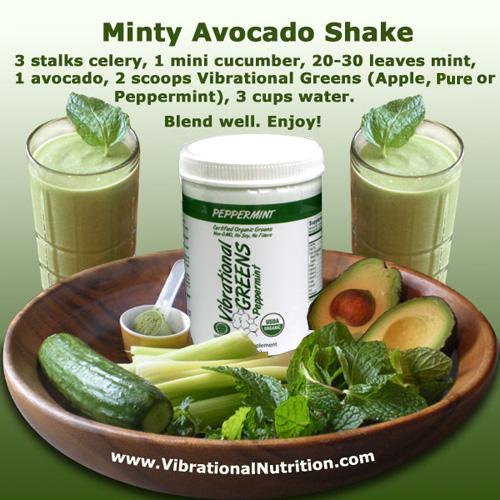 Minty Avocado Shake