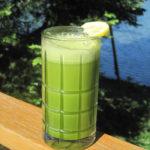 Enjoy your Vibrational Greens Apple Lemon Ginger Drink