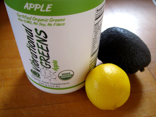 Vibrational Greens Apple Avocado Dressing