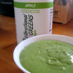 Vibrational Greens Apple Avocado Dressing ready to use