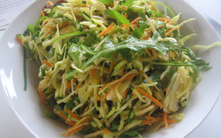 Shredded Raw Salad