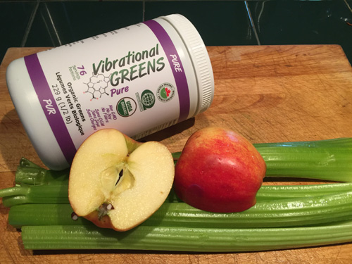 Apple Celery Vibrational Greens Pure